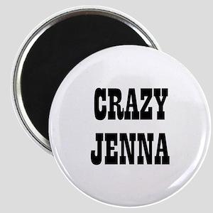 """CRAZY JENNA 2.25"""" Magnet (10 pack)"""