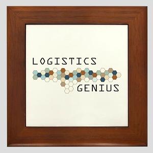 Logistics Genius Framed Tile