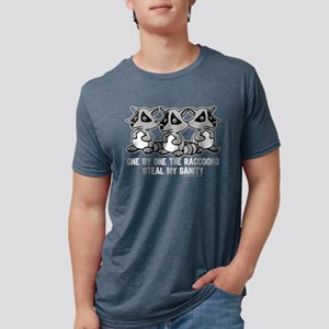 One By One The Raccoons Women's Dark T-Shirt