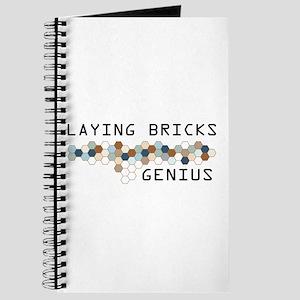 Laying Bricks Genius Journal