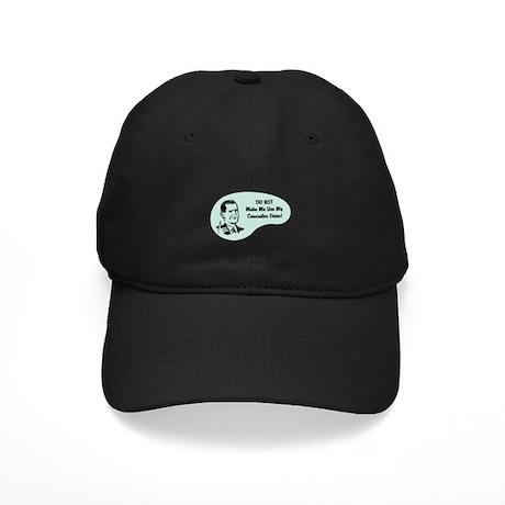 Counselor Voice Black Cap