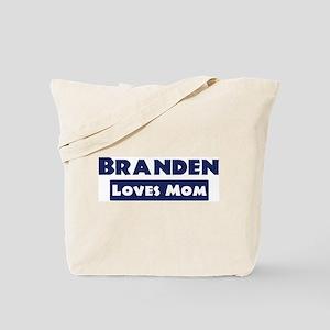Branden Loves Mom Tote Bag