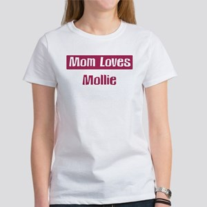 Mom Loves Mollie Women's T-Shirt