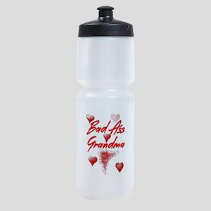 Bad Ass Grandma Sports Bottle