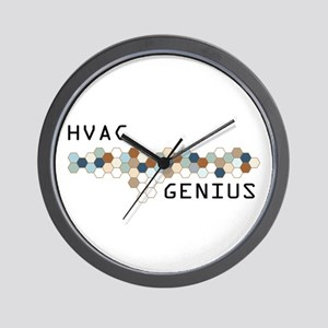 HVAC Genius Wall Clock