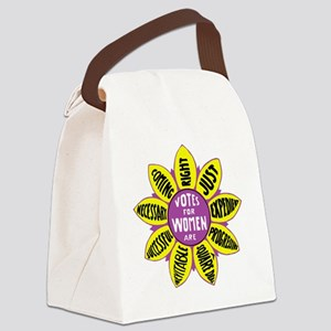 Votes for Women Vintage - color Canvas Lunch Bag