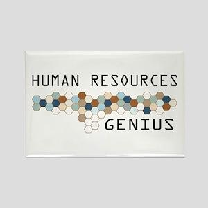 Human Resources Genius Rectangle Magnet