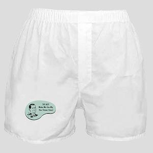 Bus Driver Voice Boxer Shorts