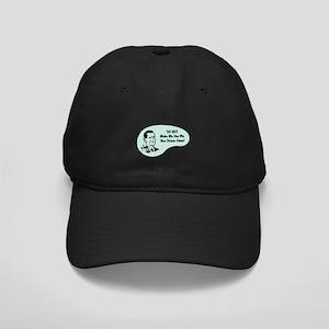 Bus Driver Voice Black Cap