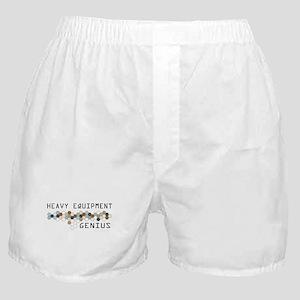 Heavy Equipment Genius Boxer Shorts