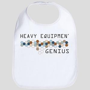 Heavy Equipment Genius Bib