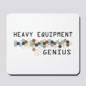 Heavy Equipment Genius Mousepad