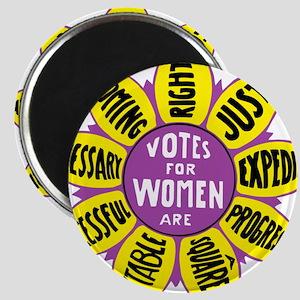 Votes for Women Vintage - color Magnets