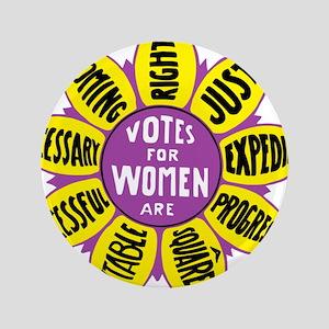 Votes for Women Vintage - color Button