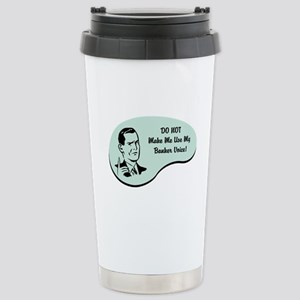 Banker Voice Stainless Steel Travel Mug