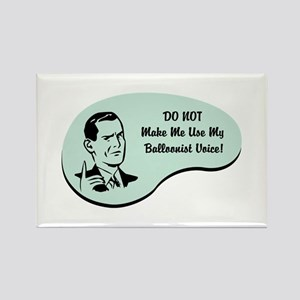 Balloonist Voice Rectangle Magnet