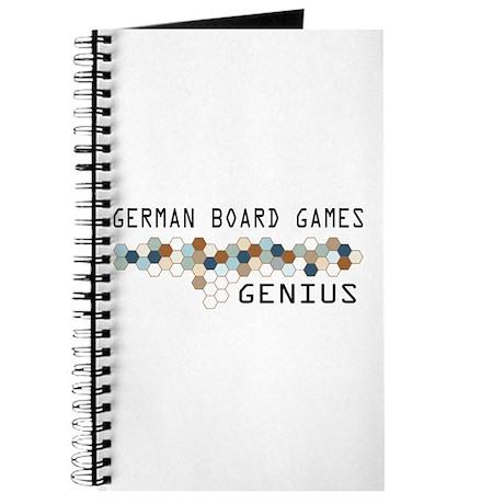 German Board Games Genius Journal