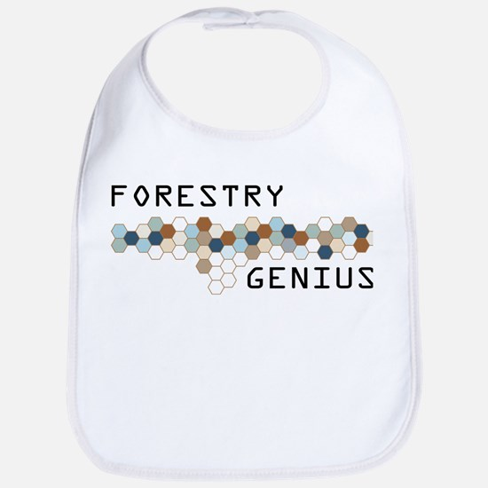 Forestry Genius Bib