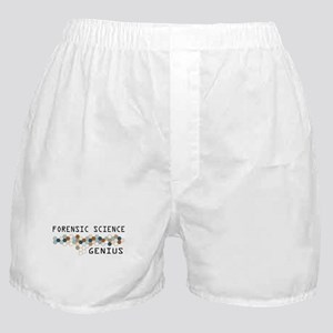 Forensic Science Genius Boxer Shorts