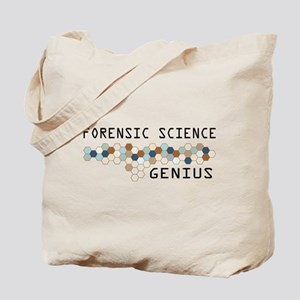 Forensic Science Genius Tote Bag