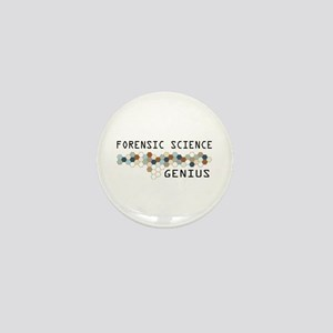 Forensic Science Genius Mini Button