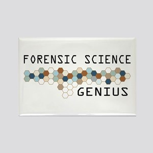Forensic Science Genius Rectangle Magnet