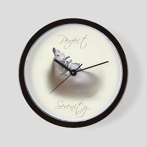 Pygmy Serenity Wall Clock