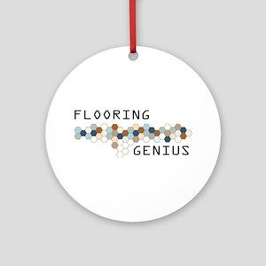 Flooring Genius Ornament (Round)
