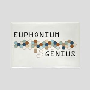 Euphonium Genius Rectangle Magnet