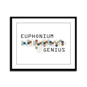 Euphonium Genius Framed Panel Print