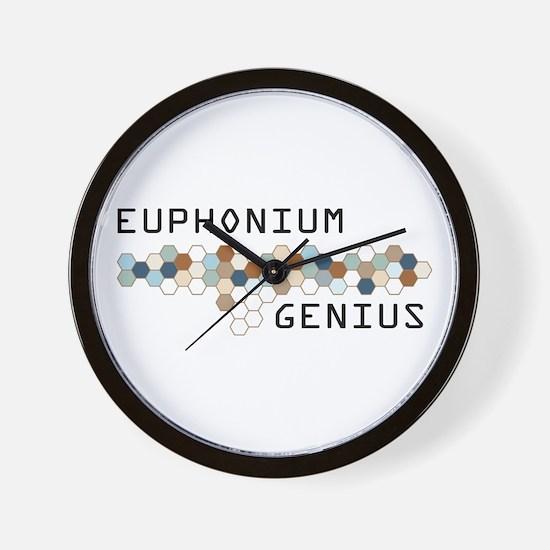 Euphonium Genius Wall Clock