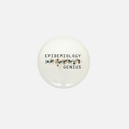 Epidemiology Genius Mini Button