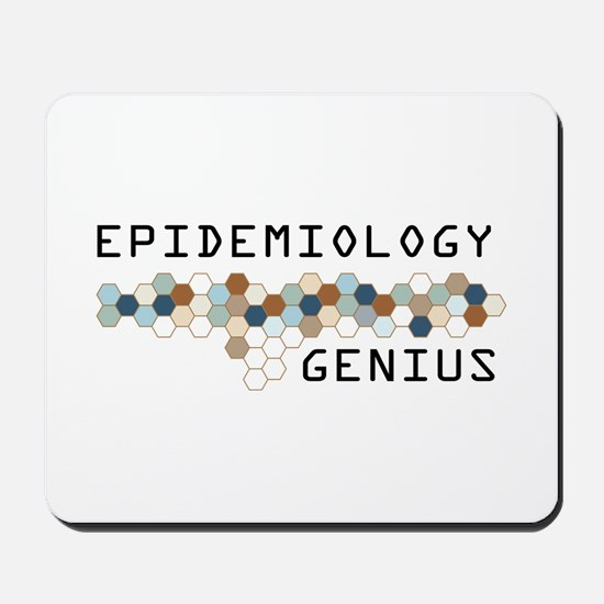Epidemiology Genius Mousepad