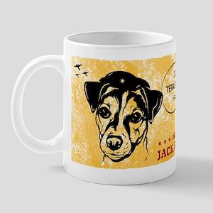 Jack Russell Terrier- War on Terror Mug