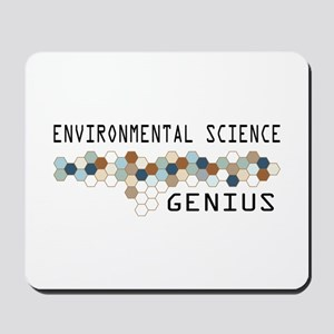 Environmental Science Genius Mousepad
