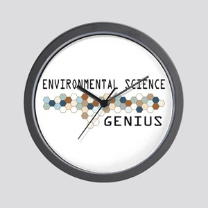 Environmental Science Genius Wall Clock