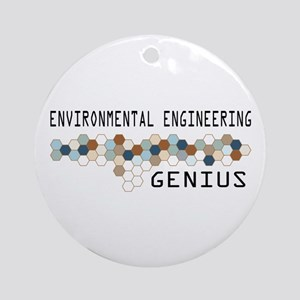 Environmental Engineering Genius Ornament (Round)