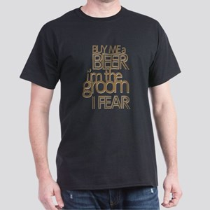 Buy Me a Beer Groom Dark T-Shirt