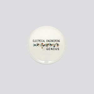 Electrical Engineering Genius Mini Button