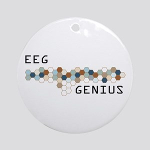 EEG Genius Ornament (Round)