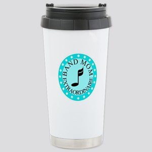 Band Mom Extraordinaire Stainless Steel Travel Mug