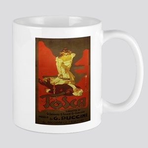 Vintage poster - Tosca Mugs
