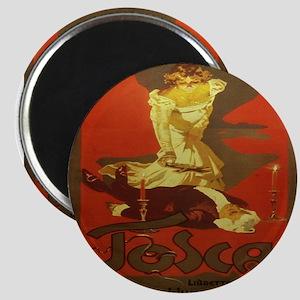 Vintage poster - Tosca Magnets