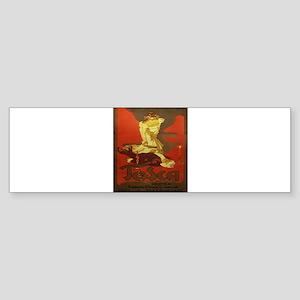 Vintage poster - Tosca Bumper Sticker
