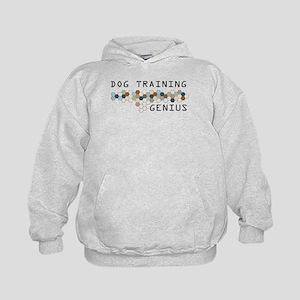 Dog Training Genius Kids Hoodie