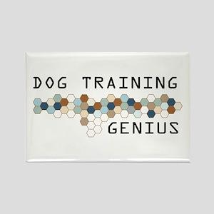 Dog Training Genius Rectangle Magnet