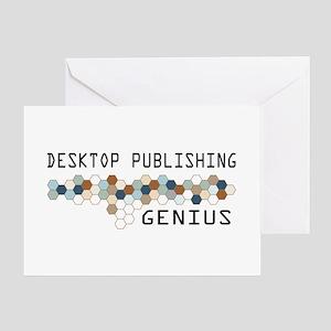 Desktop Publishing Genius Greeting Card