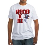 Addicted to Ink Fitted T-Shirt