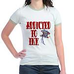 Addicted to Ink Jr. Ringer T-Shirt