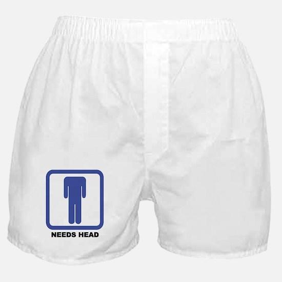 Needs Head Boxer Shorts